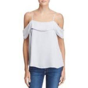 (Bardot) Satin off the shoulder cami